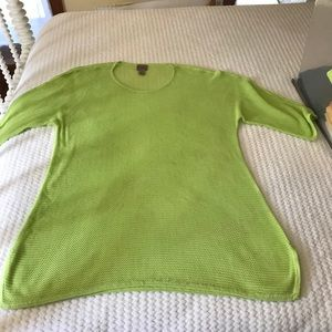 Chico's Sweaters - Chico's Crochet light weight sweater with tank.